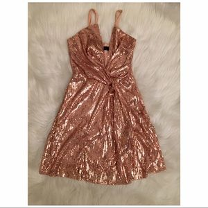 Misguided Sequin Dress ✨